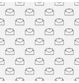 Email seamless pattern vector image vector image