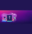 holy bible concept banner header