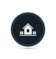 house icon gardening vector image
