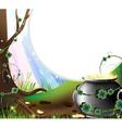 Leprechauns treasure vector image
