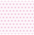Light summer seamless pattern tiling Fond pink vector image vector image