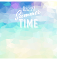 Summer tropical beach background vector image vector image