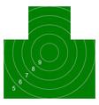 target for shooting range vector image
