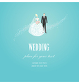 Weding wind vector image vector image