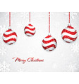 white christmas background vector image vector image