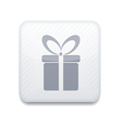 white gift icon Eps10 Easy to edit vector image