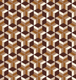 abstract geometric seamless patterns background vector image vector image