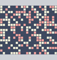 color mosaic colorful background abstract vector image