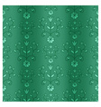 Green curtain vector image vector image