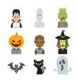 icon halloween vector image vector image