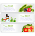 New Years visit card vector image vector image