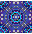 Silvery and violet-blue seamless pattern vector image vector image