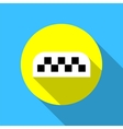 taxi call icon flat vector image vector image