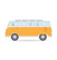 travel camper van car auto vehicle transport icon vector image vector image