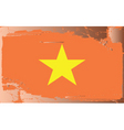 vietnam national flag vector image