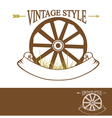 Vintage Rural Design vector image vector image
