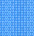 Abstract Blue Rounded Squares Pattern vector image vector image