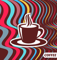Coffee retro design vector image vector image