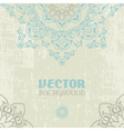 Ethnic card vector image vector image