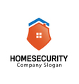 Home Security Design vector image vector image
