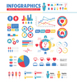 Infographic Medical Design Elements Set vector image vector image