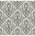 seamless filigree vintage pattern vector image vector image