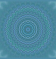 abstract mandala ornament background - round vector image vector image