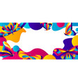 banner design with butterflies vector image vector image