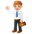 employers leave for work vector image vector image