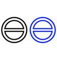 forbidden icon vector image