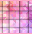 low poly design background vector image vector image