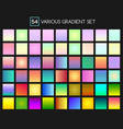 multicolor gradient backgrounds vector image vector image
