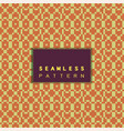 seamless mosaic pattern and repeating thai modern vector image