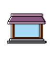store building symbol vector image vector image
