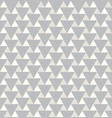 abstract triangle pattern seamless texture vector image vector image