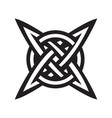 celtic knot tattoo symbol - ready for print vector image