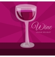 colorful wine background concept vector image vector image