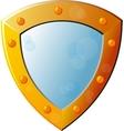 Old Empty Shield vector image