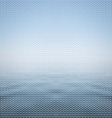 abstract background blue sea vector image vector image