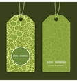 abstract green natural texture vertical vector image vector image
