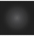 black metal dot perforated texture vector image vector image