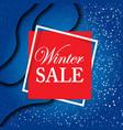 christmas sale banner black friday design vector image