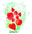cute design greeting cards for Valentines Day vector image