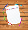 kids colorful hand drawn lettering i love vector image vector image
