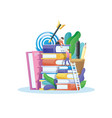 level education concept vector image vector image