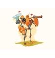 Tin Woodman Robot vector image