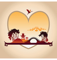 Valentines Day Chines Background vector image vector image