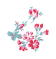 vintage style floral vector image vector image