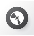 vinyl icon symbol premium quality isolated cd vector image