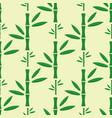 bamboo stem seamless pattern vector image